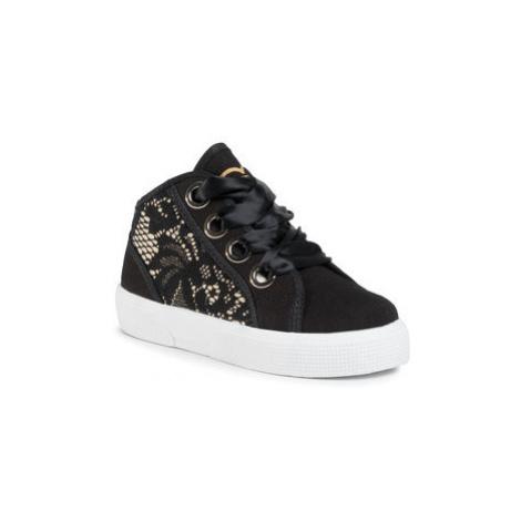 Guess Sneakersy Piuma Lace Mid FI7PIM FAB12 Čierna
