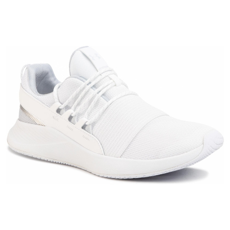 Topánky UNDER ARMOUR - Ua W Charged Breathe Lace 3022584-100 Wht