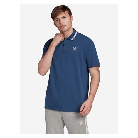 Trefoil Essentials Polo triko adidas Originals Modrá