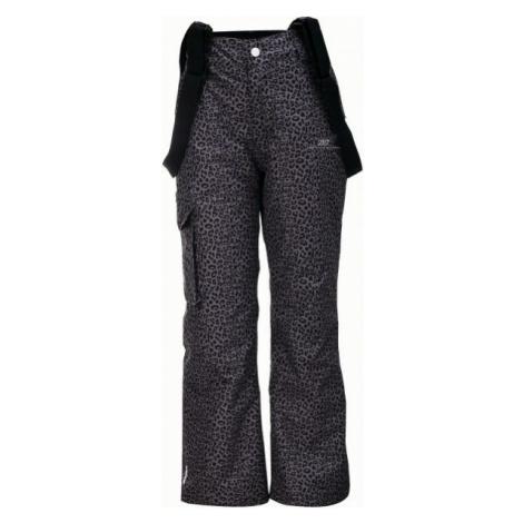 2117 TÄLLBERG tmavo sivá - Detské lyžiarske nohavice