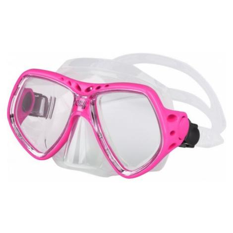 Finnsub CLIFF MASK ružová - Potápačská maska