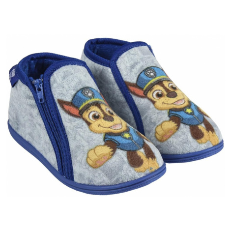 HOUSE SLIPPERS HALF BOOT PAW PATROL
