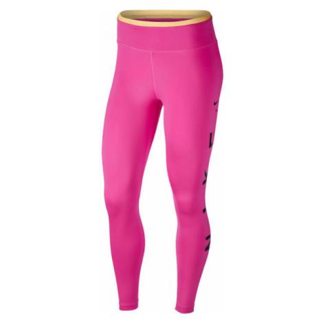 Nike ONE TGT 7/8 ICNCLSH GX W ružová - Dámske legíny