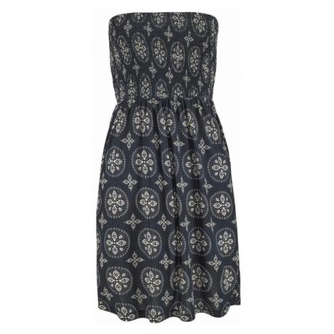 LASCANA Plážové šaty  krémová / čierna