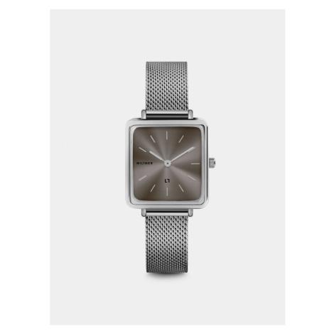 Dámske hodinky s nerezovým remienkom v striebornej farbe Millner Royal