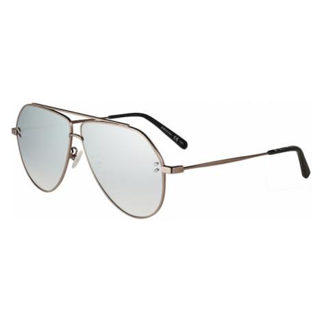 Stella McCartney Slnečné okuliare 'SC0063SI 60'  strieborná / bronzová