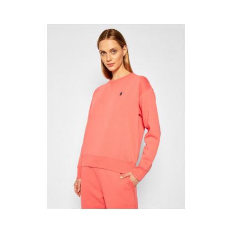 Polo Ralph Lauren Mikina 211794395007 Ružová Regular Fit