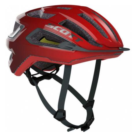 Scott ARX PLUS červená - Cyklistická prilba