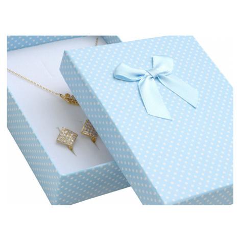 JK Box Darčeková krabička na súpravu šperkov KK-8 / A15 JKbox