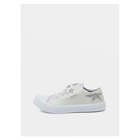 Light grey girl sneakers 3F