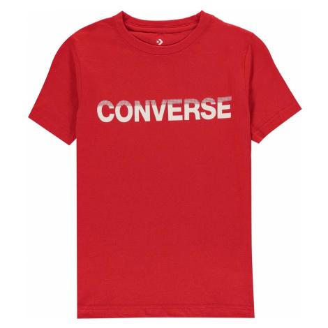 Converse Gloss T-Shirt Junior Boys