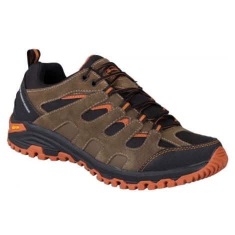 ALPINE PRO BABER hnedá - Pánska outdoorová obuv