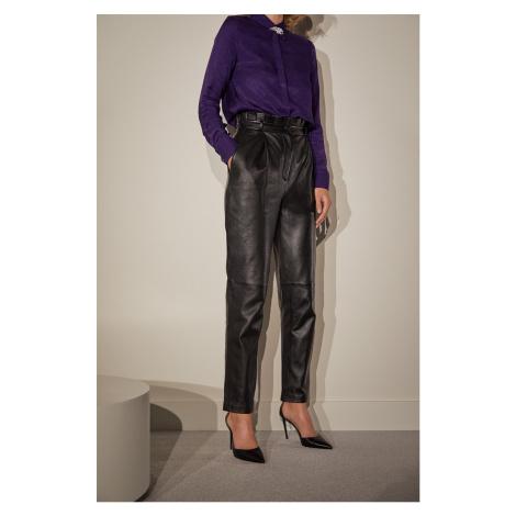 Answear.LAB limitovaná kolekcia - Kožené nohavice