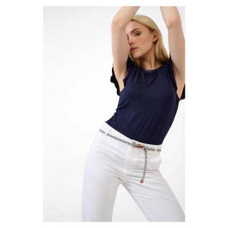 Tričko s volánovými rukávmi Orsay