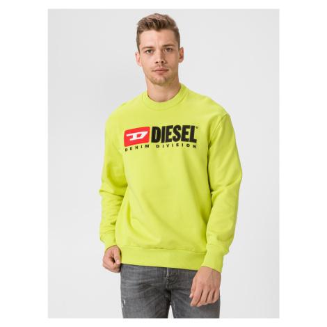 Division Mikina Diesel Žltá