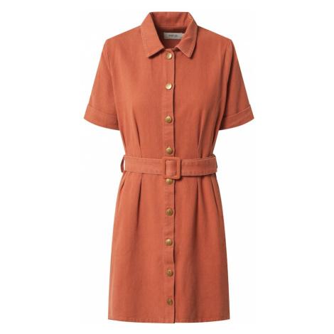 MINKPINK Košeľové šaty 'Residence'  oranžová