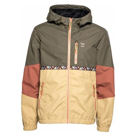 Iriedaily Prechodná bunda  olivová / béžová / zmiešané farby