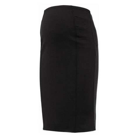 čierne tehotenské sukne a šaty