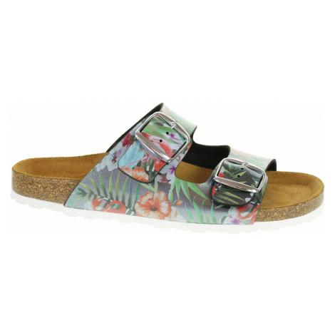 Dámské pantofle Bio Life 0014 Lena antracite 0014