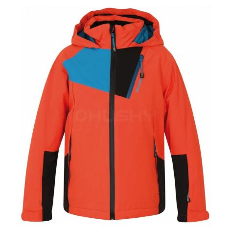 Husky Zawi K oranžová, Detská ski bunda