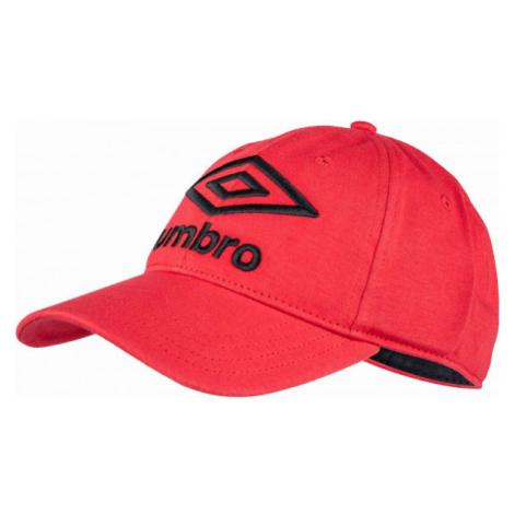 Umbro KNITTED CAP červená - Šiltovka