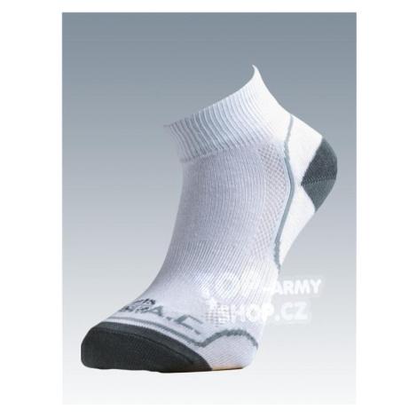 Ponožky so striebrom Batac Classic short - white