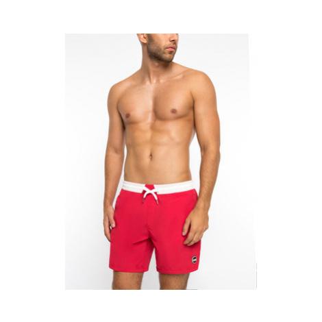 Colmar Plavecké šortky Blank 7257 5SE Červená Regular Fit