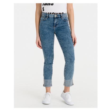 TWINSET My Skinny Jeans Modrá