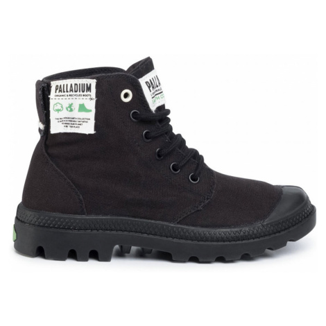 Palladium Pampa Hi Organic M Black-10 čierne 76199-001-M-10