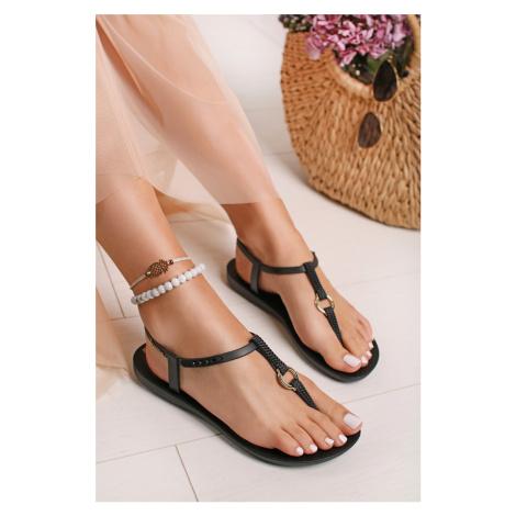 Čierne gumené sandále Charm VII Ipanema