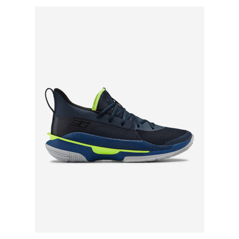 Topánky Under Armour Curry 7-Nvy