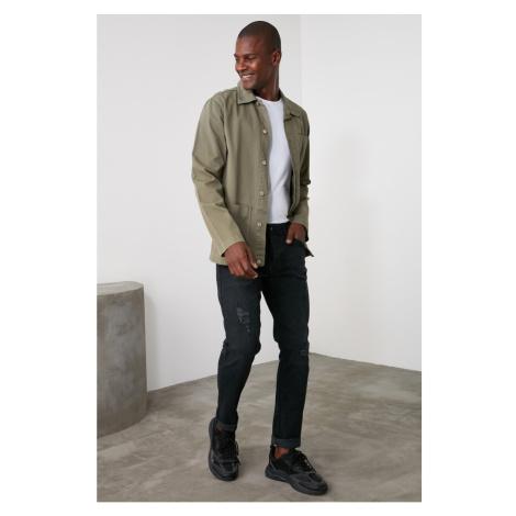 Trendyol Anthracite Male Destroyskinny Jeans