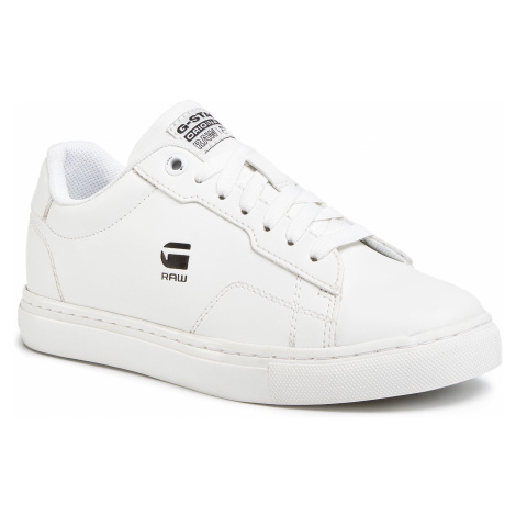 Sneakersy G-STAR RAW - Cadet D16799-A940-111 Milk
