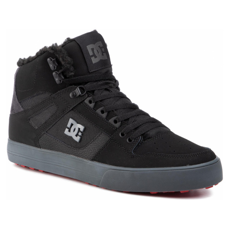DC Sneakersy Pure High-Top Wc Wnt ADYS400047 Čierna