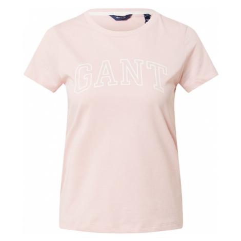 GANT Tričko  ružová / biela