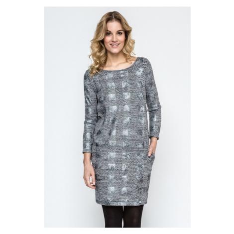 Sivé šaty 240112 Enny