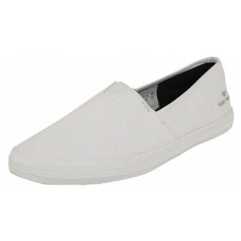 TOM TAILOR Slip-on obuv  biela