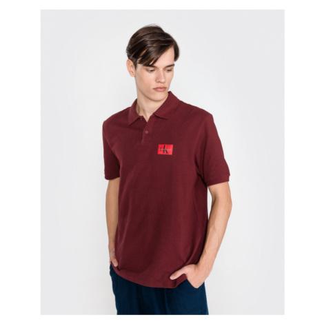 Calvin Klein Polo tričko Červená