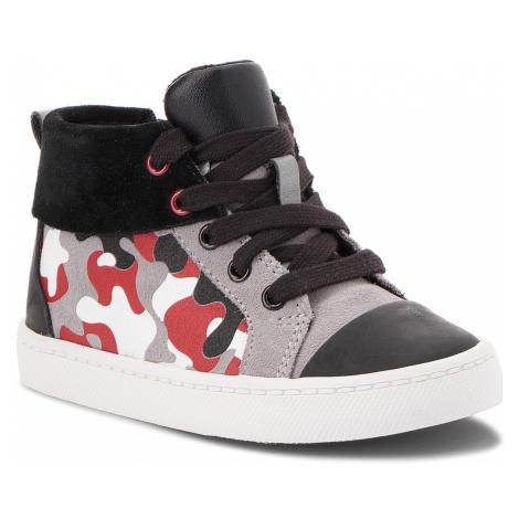 Outdoorová obuv CLARKS - City Vine Hi 261377316 Red Camo