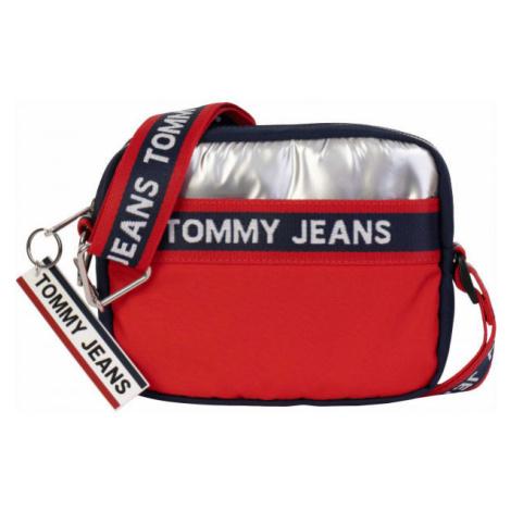 Tommy Hilfiger TJW LOGO TAPE CROSSOVER CB červená - Dámska kabelka