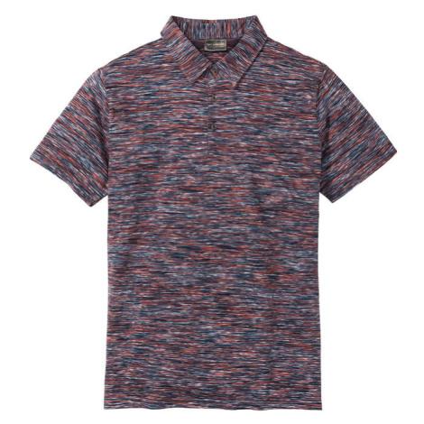Polo tričko, melírované