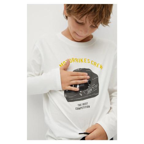 Mango Kids - Detské tričko s dlhým rukávom Rider 110-152 cm