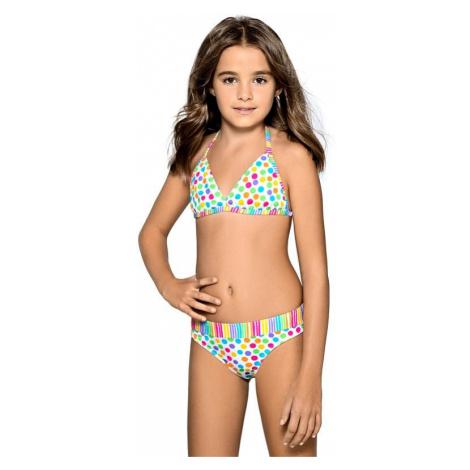 Dievčenské plavky Viky s bodkami Lorin