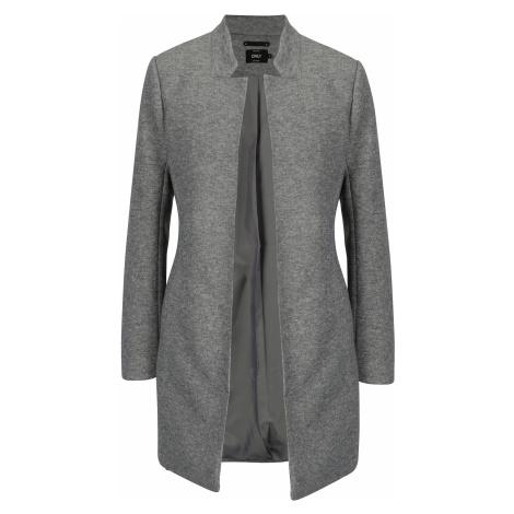 Sivý melírovaný kabát Only Soho