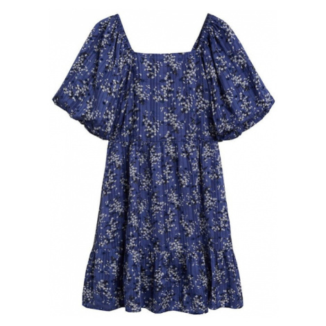 MANGO Plážové šaty 'Sky'  námornícka modrá / tmavomodrá / zmiešané farby