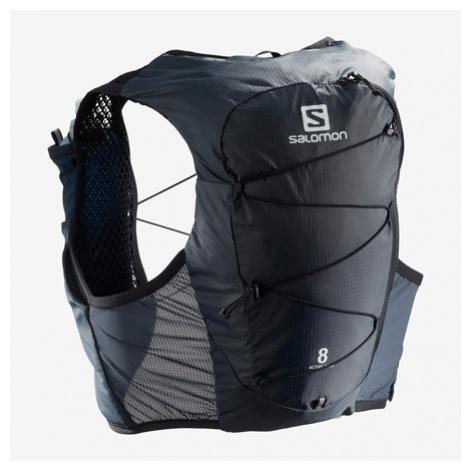 Bežecká Vesta Salomon Active Skin 8 Set Čierna