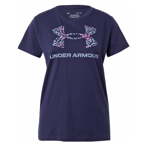 UNDER ARMOUR Funkčné tričko  námornícka modrá / opálová / ružová