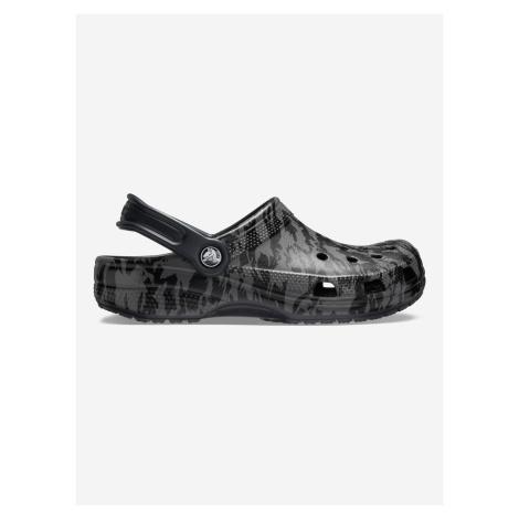 Classic Printed Camo Clog Crocs Crocs Čierna