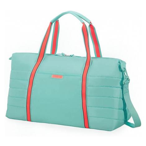American Tourister Cestovná taška Uptown Vibes 64G 34 l - tyrkysová