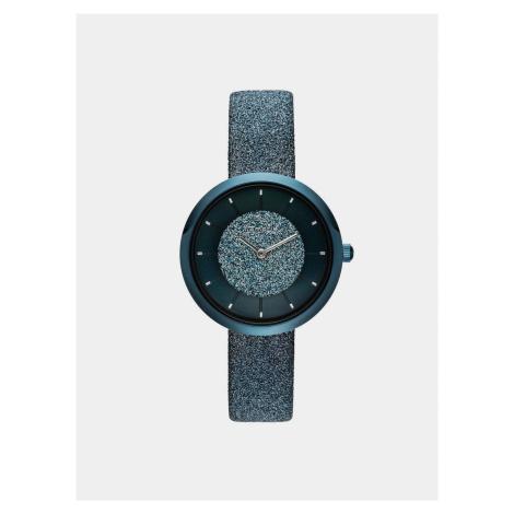 Dámske hodinky s modrým remienkom Tamaris